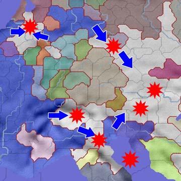 オーストリア懲罰戦争