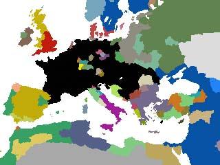 イタリア戦争直前の欧州