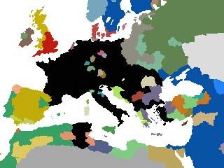 1750年頃の欧州